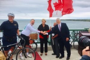 Rotary Connects the World along the Niagara River