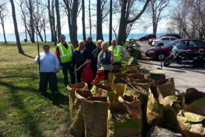 Waverly Beach Clean Up