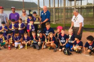 RFE supports local baseball teams with jerseys