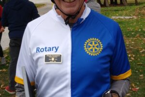 Pedal For Polio sponsored by Canadian and American Rotarians