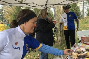 Zentein.ca supports Rotarian Riders in Pedal for Polio fundraiser for World Polio Day