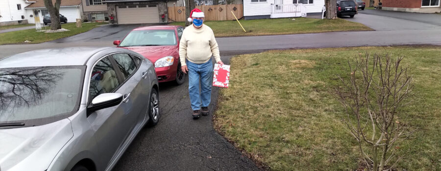 Santa visits Fort Erie Rotarians